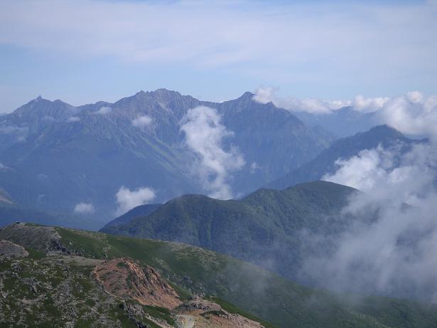 乗鞍岳09,9 010