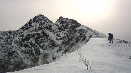 塩見岳09,12,30 009