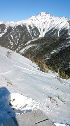 塩見岳09,12,30 022