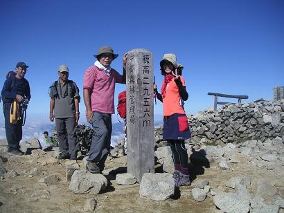 木曽駒ヶ岳10,8 016