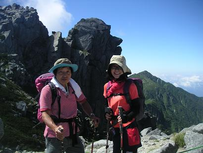 木曽駒ヶ岳10,8 017