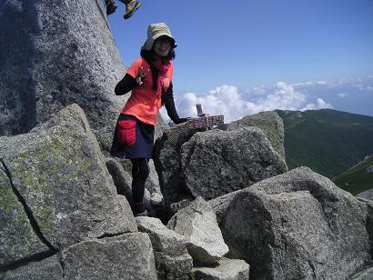 木曽駒ヶ岳10,8 019