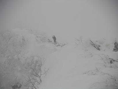 天狗岳(冬山合宿) 022