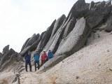 燕岳 花崗岩のオブジェ