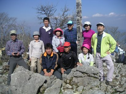 市民トレック御池岳2011,10 025