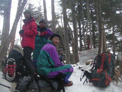 空木岳2011,12冬山合宿 012