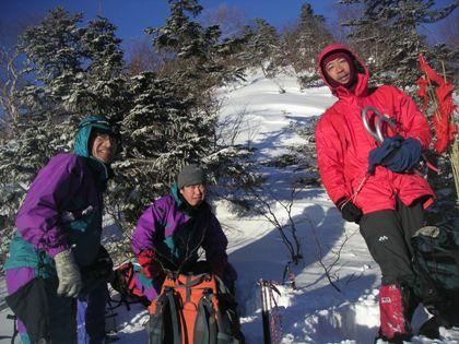 空木岳2011,12冬山合宿 013