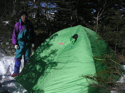 空木岳2011,12冬山合宿 028