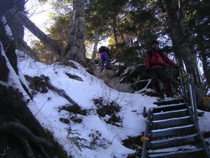空木岳2011,12冬山合宿 029