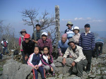 市民トレック御池岳2011,10 023