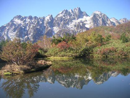 剣岳、仙人池ヒュッテ2011,10 038
