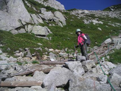 三の沢岳2012、8、4 006