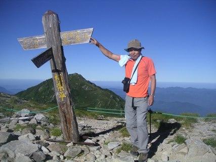 三の沢岳2012、8、4 009
