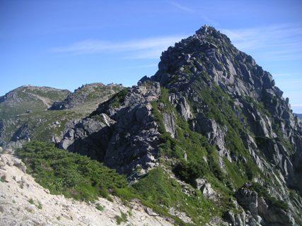三の沢岳2012、8、4 010