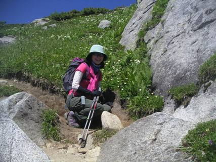 三の沢岳2012、8、4 016