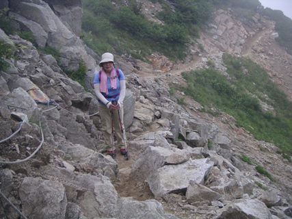 唐松岳2012、8、 020