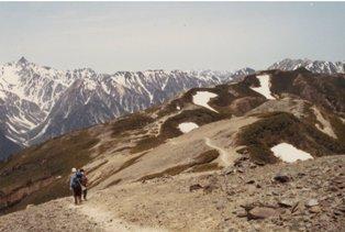 198306市民登山 蝶ヶ岳下見