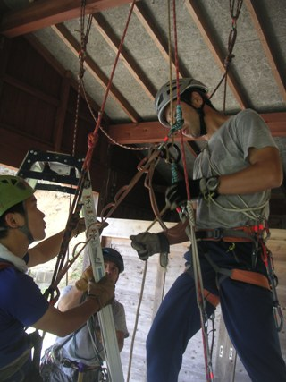 山岳レスキュー講習会2012,9 011