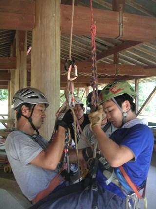 山岳レスキュー講習会2012,9 012