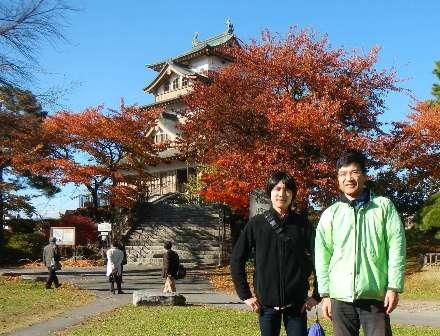 浮島で有名な高島城