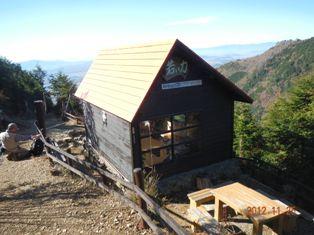 5合目の小屋