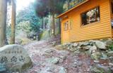 表参道登山口の小屋