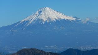 第1真富士山からの富士山