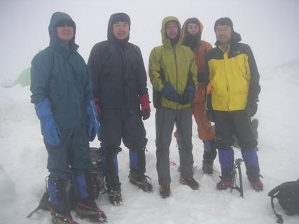 春山合宿剣岳2012,5 007