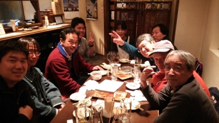 山本さん表彰の祝賀会 130331