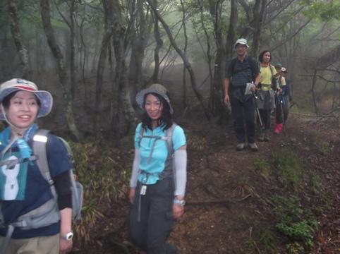 雨乞岳2014、7,6 002
