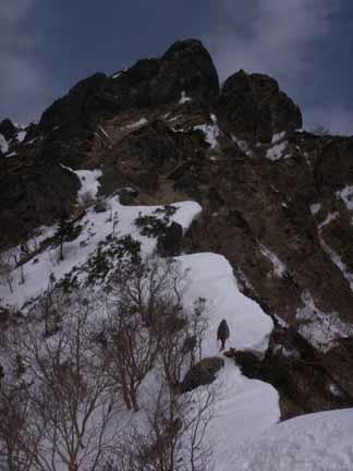 八ヶ岳・阿弥陀岳南稜3