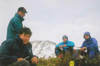 越後駒~中ノ岳~丹後山2