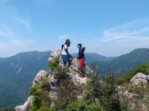 鎌ヶ岳2015、5,30 014