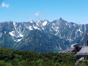 蝶ヶ岳2015、8,1 024