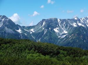 蝶ヶ岳2015、8,1 026