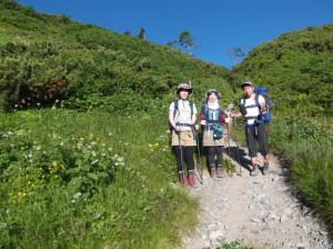 蝶ヶ岳2015、8,1 057