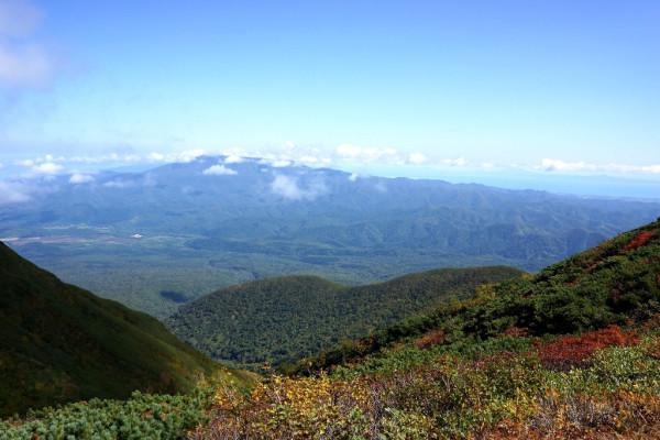 12 海別岳から知床半島方面