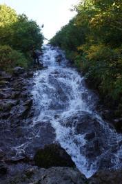8 上部の滝