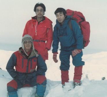 1982冬合宿:横尾尾根~槍ヶ岳 (6)