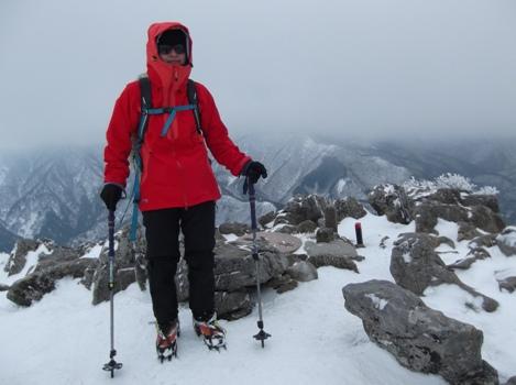 藤原岳2015、2,1 009