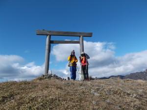 入道ヶ岳2016 ,1,9 017