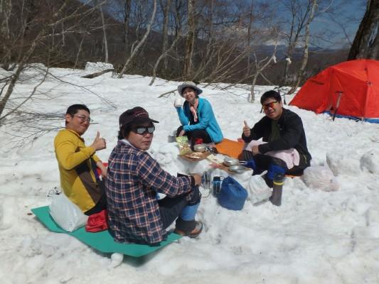 白馬岳2016.4.4〜5_7