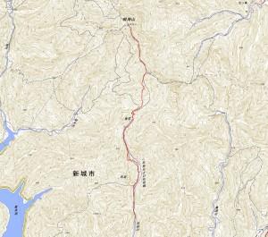 三ツ瀬明神山(2015.12.20)