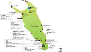 礼文島地図